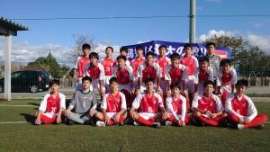 【お知らせ】JFA U-15サッカーリーグ(富山県)1部リーグに昇格決定!